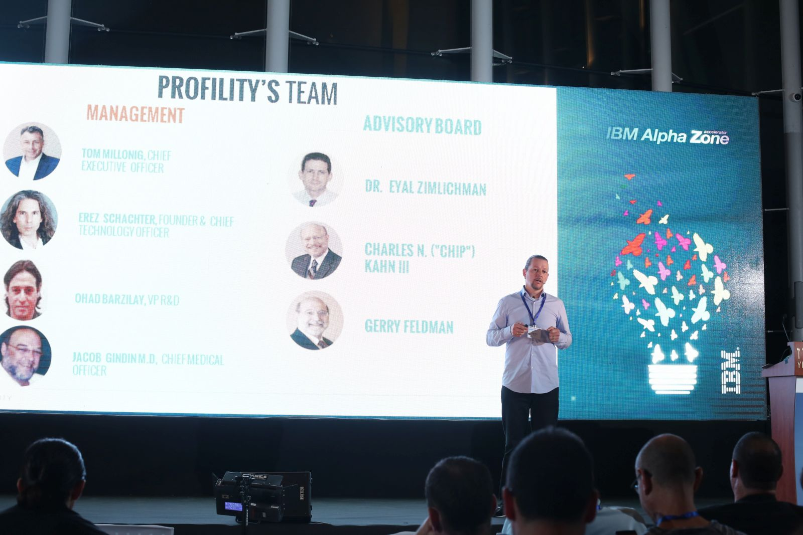 Profility pitch at the IBM Alpha Zone Accelerator