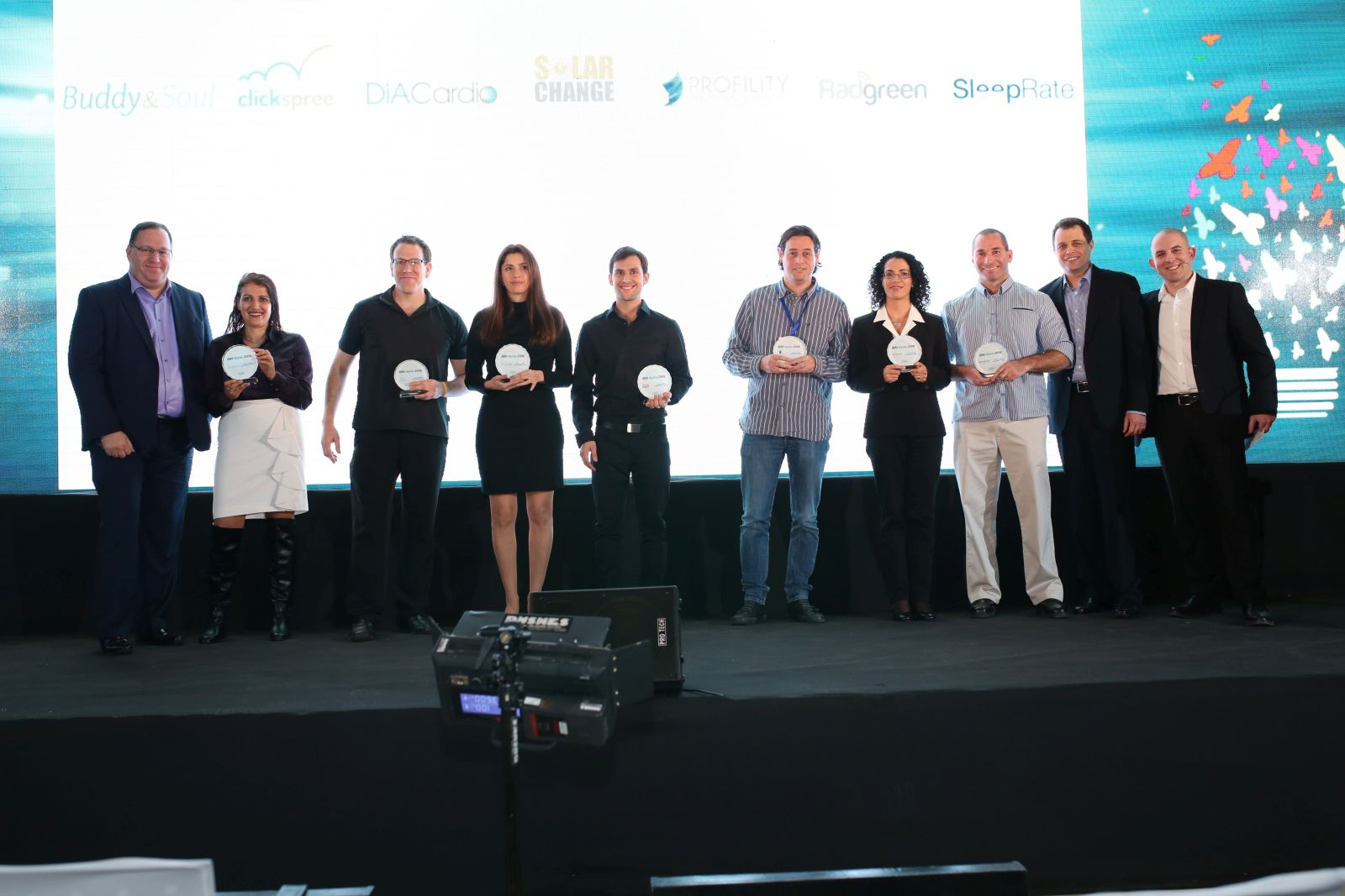 Profility in good company at the IBM Alpha Zone awards ceremony